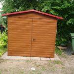 Garaż Złoty Dąb ciemny 2,5m x 3m
